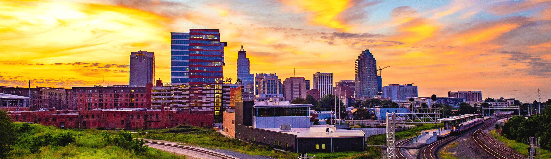 Durham, NC skyline