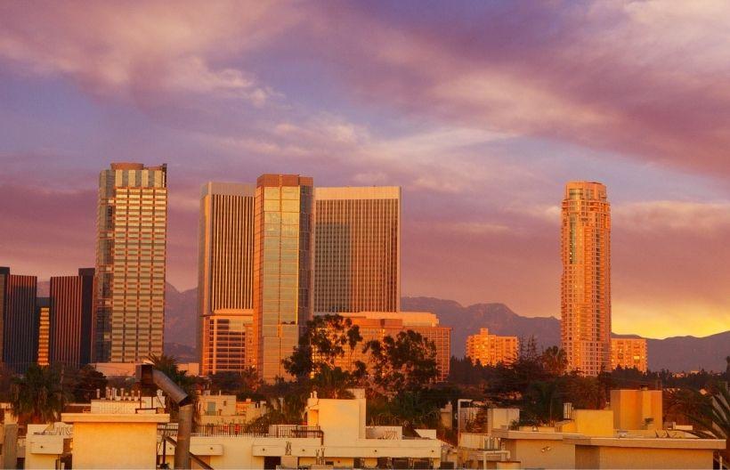 Los Angeles, CA skyline